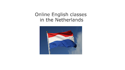 Online English classes in the Netherlands