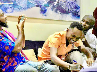 Davido signs new artiste, Ayanfe to DMW Record label