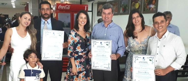 Em 2018 José Sérgio, o vice-prefeito Juliano e o vereador Tatinho participaram juntos de um evento em São José do Rio Preto
