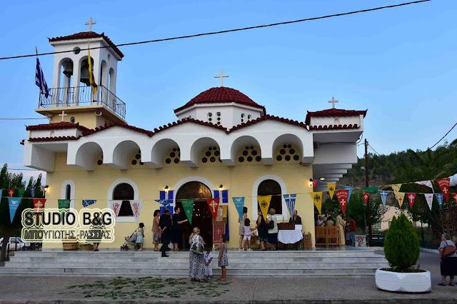 Ναύπλιο: Γιορτάζει ο Ιερός Ναός του Αγίου Νεκταρίου στις Εργατικές Κατοικίες