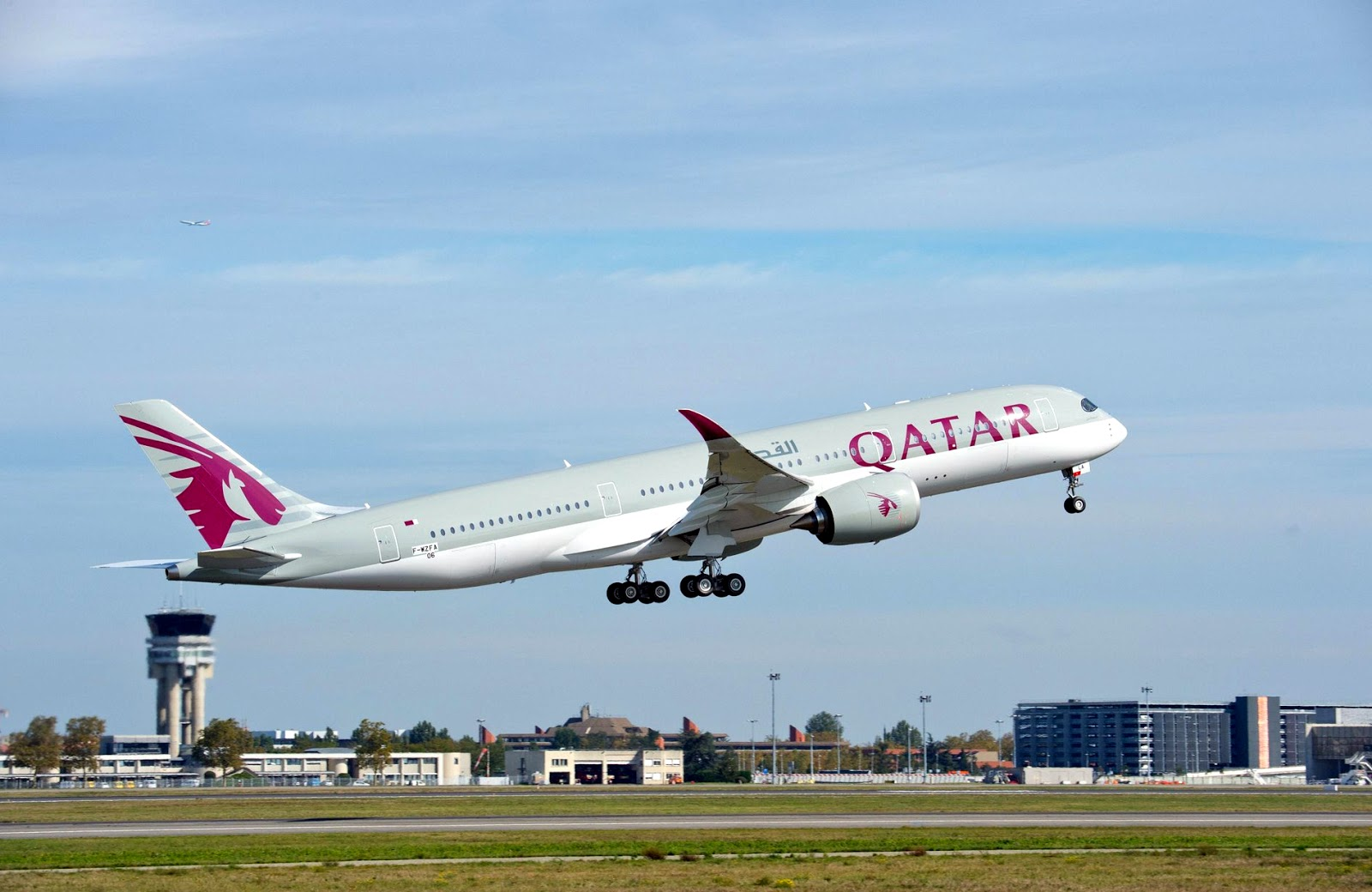 Qatar Airways Airbus A350-900 September 2019 Delivery