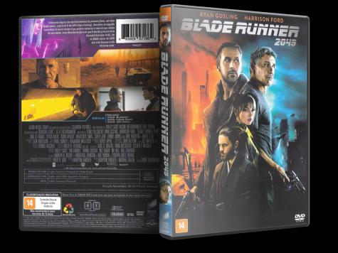 Capa DVD Blade Runner 2049