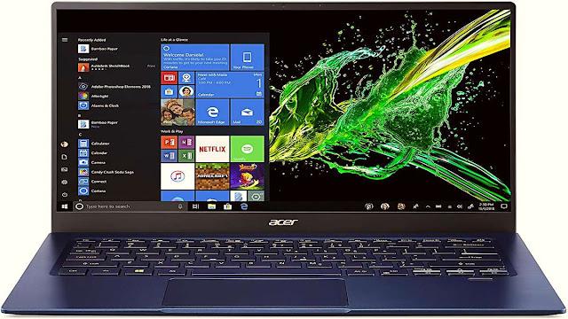 10. Nesil Intel işlemcilerden gücünü alan yenilenmiş Acer Swift 5, Türkiye'de satışa sunuldu.