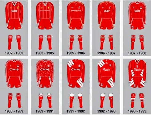 warna merah yang terkandung dalam jersey diyakini bisa memberi dampak psikologis bagi para Berita Bola Sejarah Jersey Liverpool