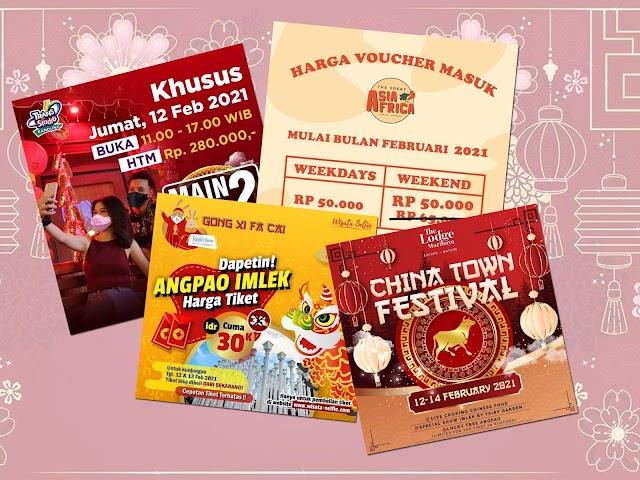 Ini Program dan Promo Tempat-Tempat Wisata di Bandung Momen Liburan Imlek Februari 2021
