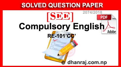 SEE-Solved-Question-Paper-Of-Compulsory-English-2074-2018-RE-101CC
