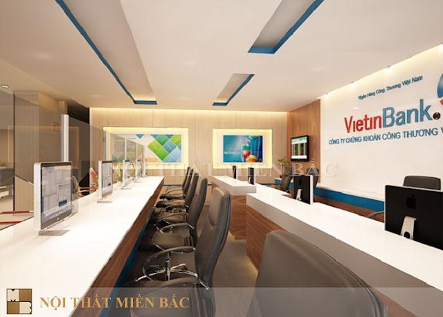 Tư vấn thiết kế phòng giao dịch ngân hàng đẳng cấp - H2