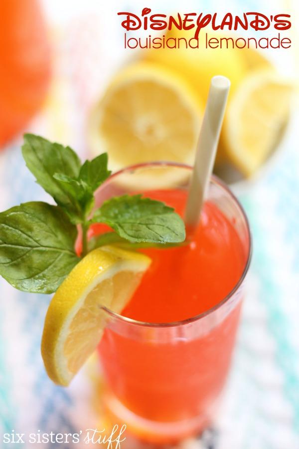 DISNEYLAND'S LOUISIANA LEMONADE #drink #lemonade