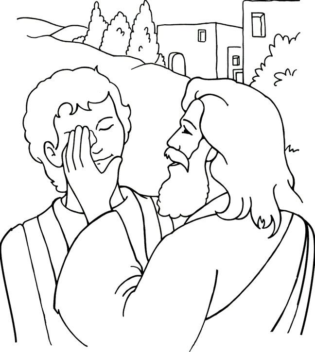 El Renuevo De Jehova: Jesus sanando a un ciego - Imagenes para ...