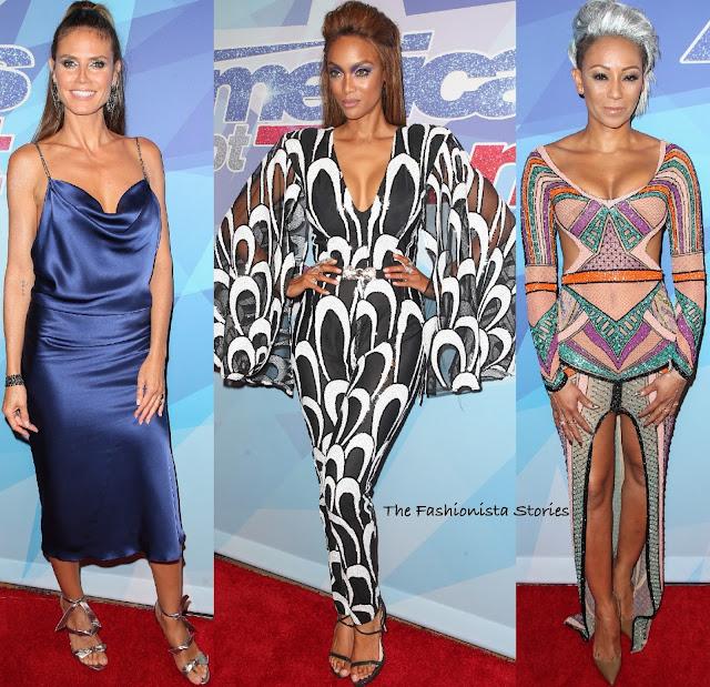 Tyra Banks Got Talent: Heidi Klum, Tyra Banks & Mel. B At The America's Got