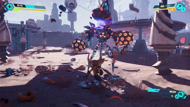 Savali Combate a melé Ratchet & Clank Una dimensión aparte