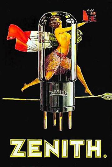 Radio Art -- Zenith Tube Ad
