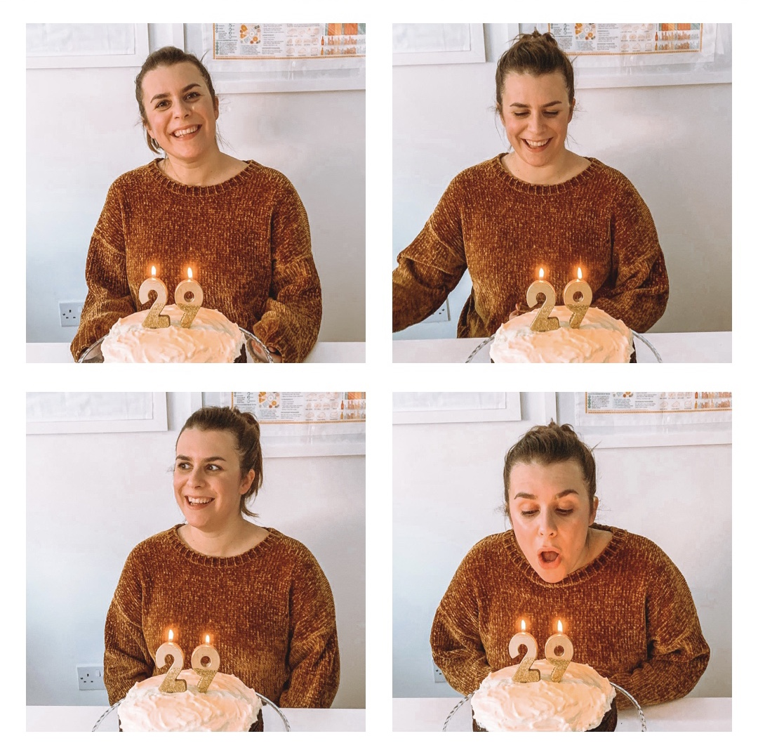 Birthday photo diary