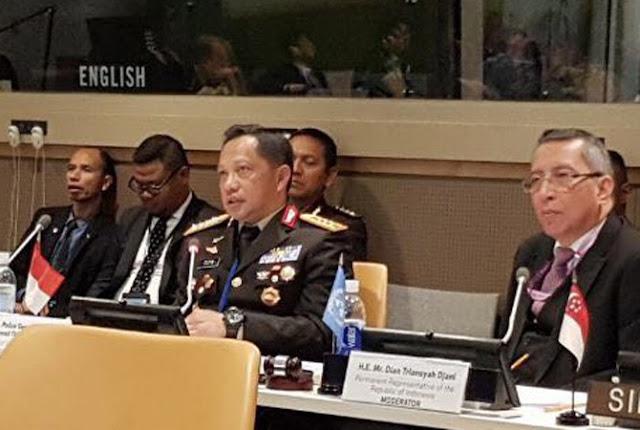 Di Markas PBB, Kapolri Tito: Teroris Bukan Islam dan Islam Bukan Teroris