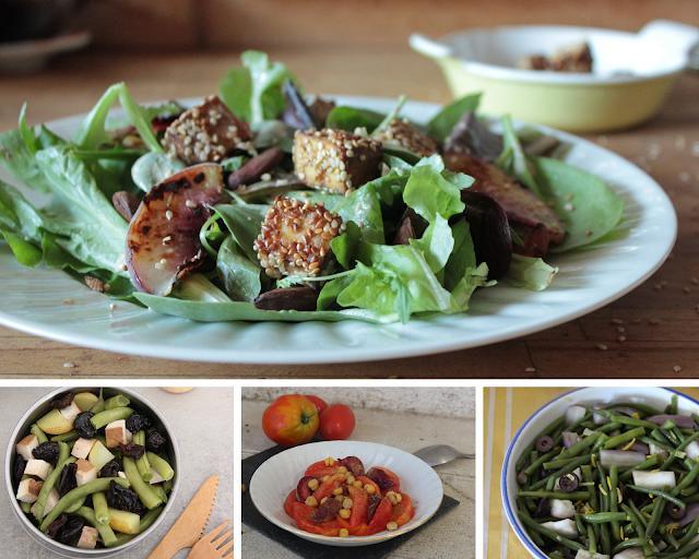 Cinq recettes de salades estivales