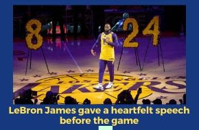 Lakers;Gianna;Bryant;James