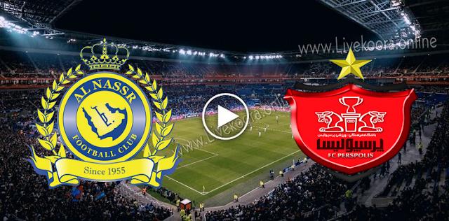موعد مباراة النصر وبيرسبوليس بث مباشر بتاريخ 03-10-2020 دوري أبطال آسيا