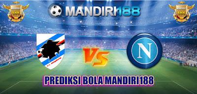 AGEN BOLA - Prediksi Sampdoria vs Napoli 28 Mei 2017