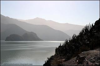 Cortina Puclaro, Elqui, Chili, Chile