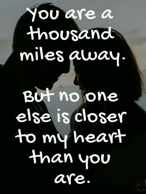 Love Quotes - You are a thousand miles away