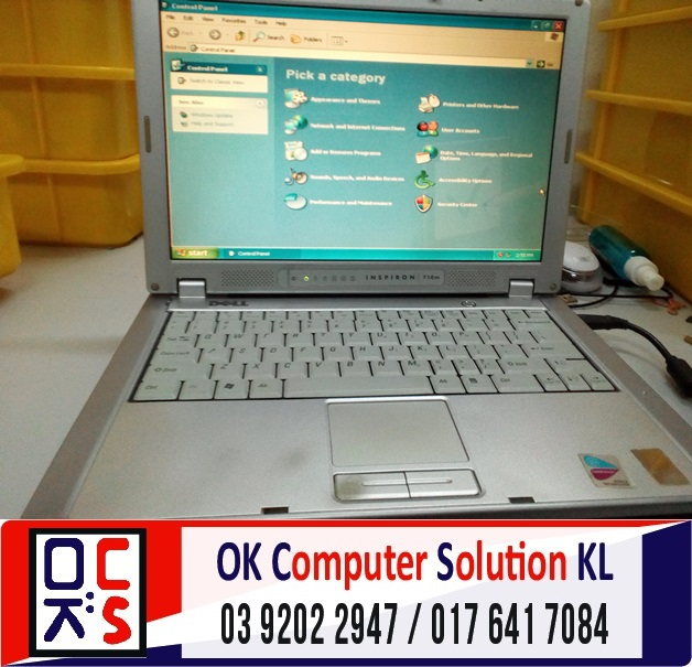 [SOLVED] HARD DISK ROSAK DELL INSPIRON | REPAIR LAPTOP CHERAS 6