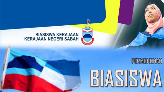 Permohonan Biasiswa Kerajaan Negeri Sabah (BKNS) untuk pelajar Sabah sahaja
