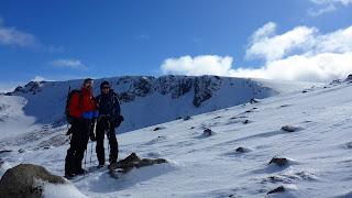 Heading towards Ben MacDui the 2nd highest peak in the UK