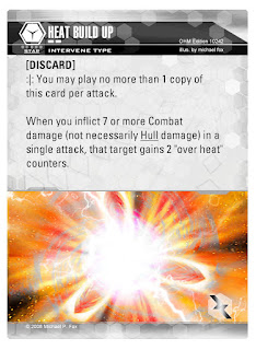 Dog Fight: Starship Edition Heat Build Up