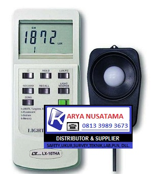 Jual Lux Meter LUTRON LX-107HA di Pontianak