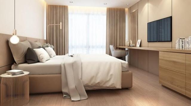 Căn hộ 3 phòng ngủ chung cư Sun Group Lương Yên
