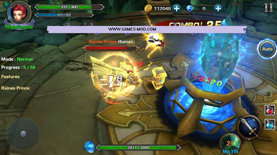 Demon Hunter Dungeon Apk Obb - Games Mod