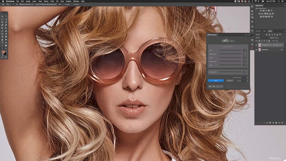 NBP UltraSharp 1.0 Photoshop Panel