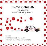 Logo Vinci il profumo Flower by Kenzo gratis