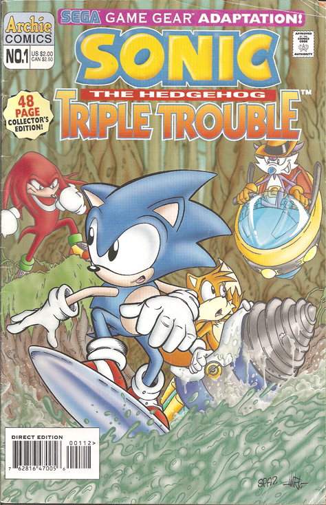 Comic Kathy Sonic The Hedgehog Triple Trouble