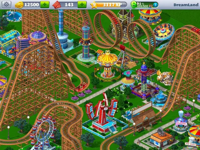 RollerCoaster Tycoon 4 Mobile Apk Download Mod+Hack