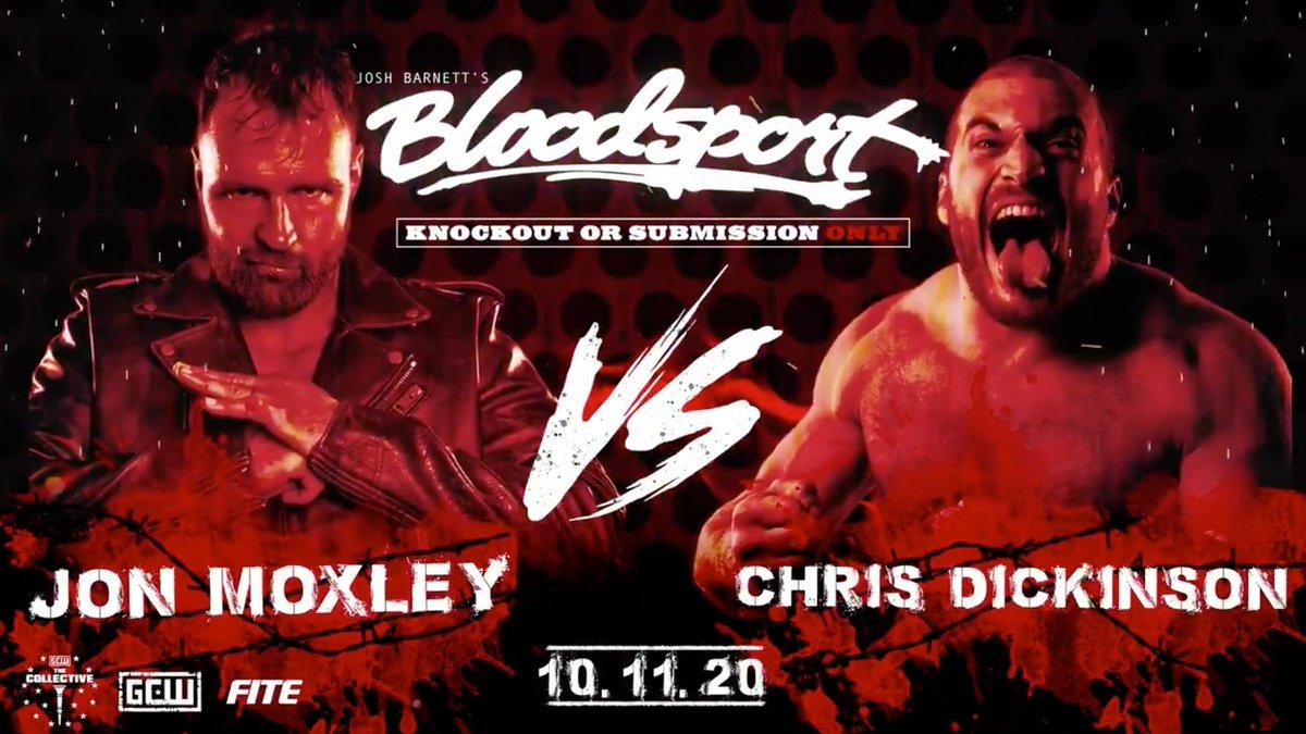 """Cobertura: GCW """"Josh Barnett's Bloodsport 3"""" – Terra de Moxley!"""