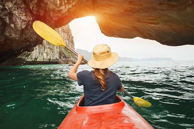 Great places to go kayaking in Vietnam 1