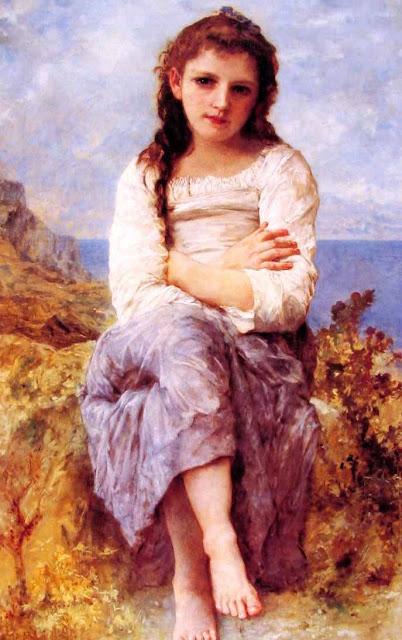 Адольф Вильям Бугро - Вдали (1904)
