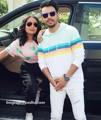 Tony Kakkar with Neha Kakkar