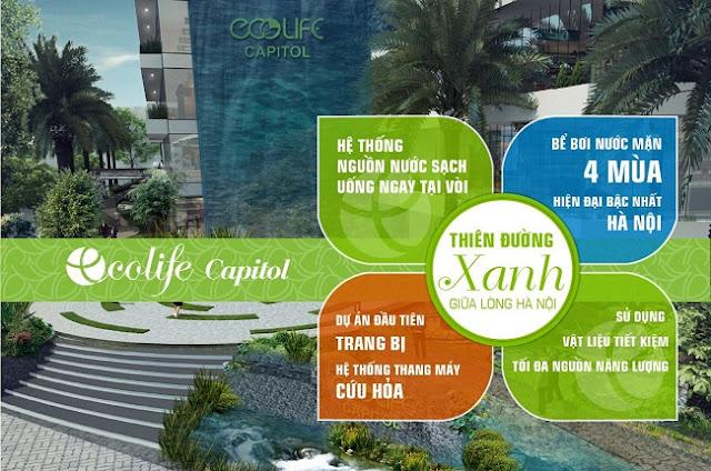 Tiện ích Ecolife Capitol