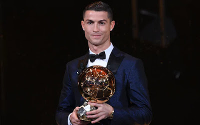 Ronaldo 2017 ballon d'or winner