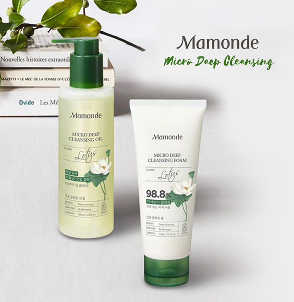 [Beauty Review] MAMONDE MICRO DEEP CLEANSING OIL & FOAM