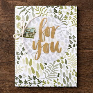 Botanical Gardens designer series paper zena kennedy stampin up demonstrator