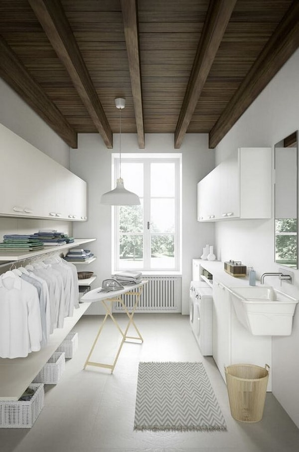 Creative Laundry Rooms Decor Ideas - Room Organization Ideas 8