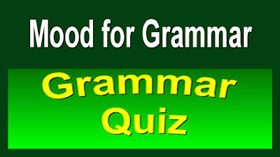 Mood for Grammar-Quiz