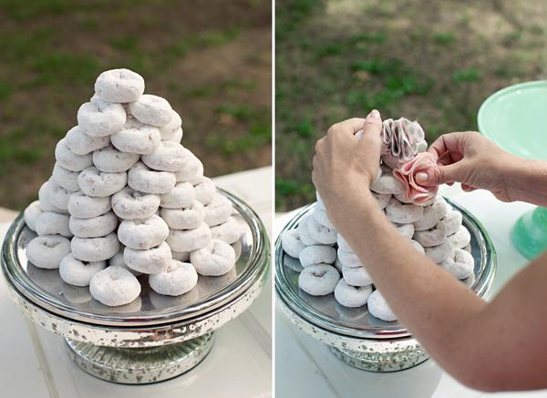 Cake Creative Co Tutorial Pretty Powdered Donut Tower