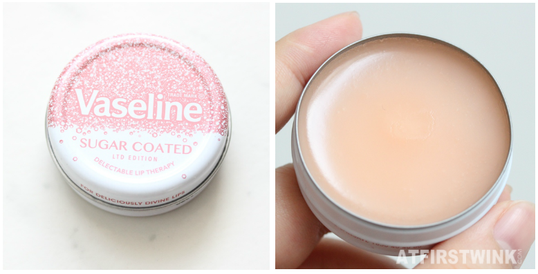 Vaseline sugar coated limited edition lip balm review