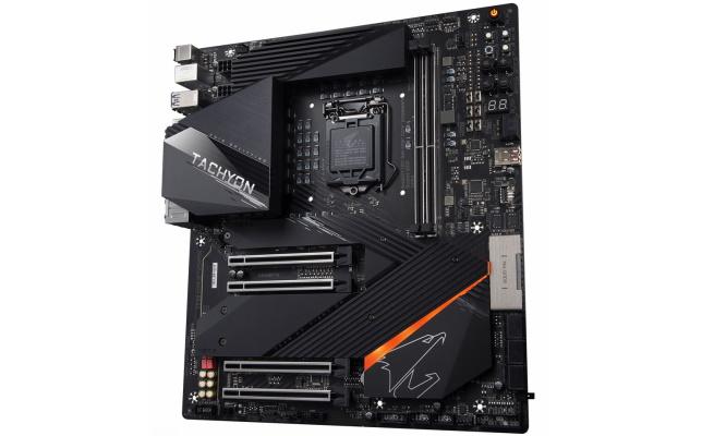 Gigabyte Z590 AORUS Tachyon motherboard Overclocking