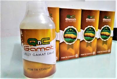 Harga Jelly Gamat QNC Emas