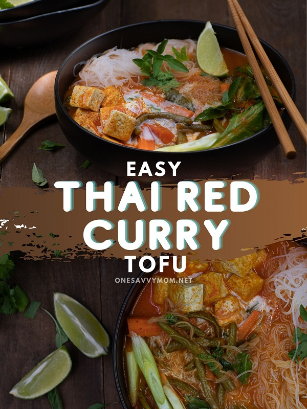 Thai Red Curry with Tofu recipe